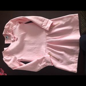 Pink long sleeve Janie and Jack dress